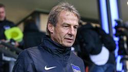 Im Blickpunkt: Hertha-Trainer Jürgen Klinsmann