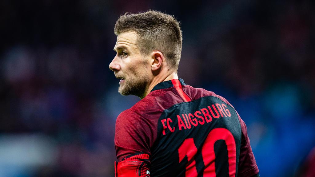 Daniel Baier bleibt bis 2021 beim FC Augsburg