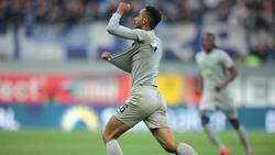 Cunha rettete Hertha BSC mit seinem Tor in Paderborn