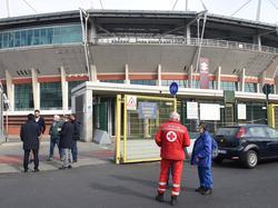 Exteriores del Estadio Olímpico Grande Torino la pasada semana.