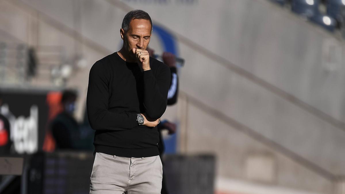 Mit Eintracht Frankfurt in der Krise: Trainer Adi Hütter