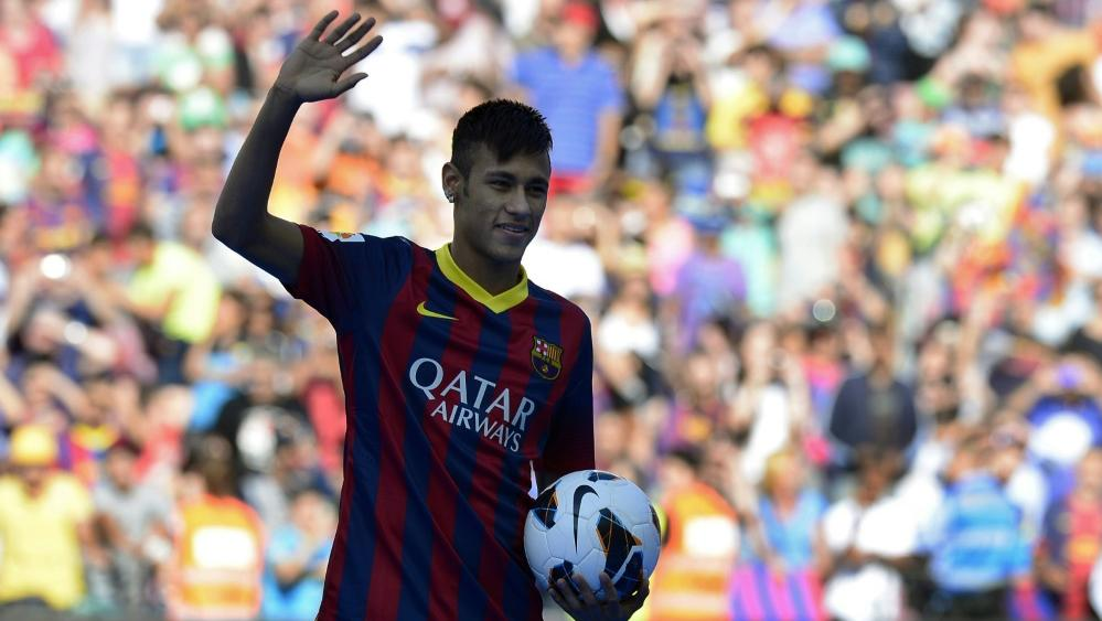 Neymar wechselte 2013 zum FC Barcelona