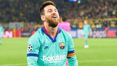 Wie steht es um den Rekord von Lionel Messi?