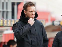 Leipzig-Trainer Julian Nagelsann hofft auf einen Sieg über Leverkusen