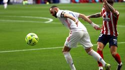 Karim Benzema rettete Real Madrid einen Punkt
