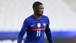 Dembélé traf gegen Kasachstan