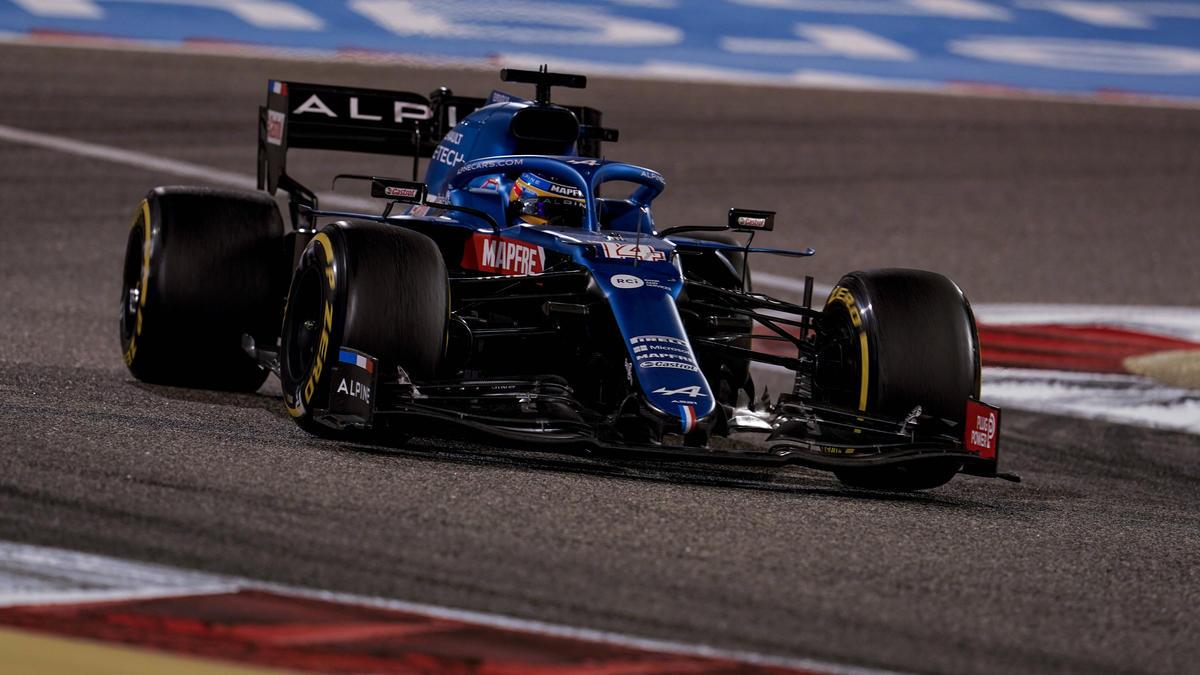 Der aktuelle Alpine-Bolide mit Fernando Alonso am Steuer