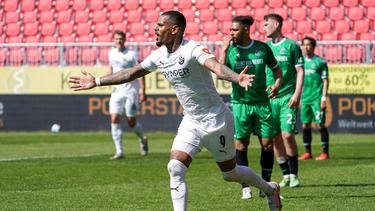Der SV Sandhausen bestätigte seinen Aufwärtstrend