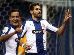 Stuani war gegen Almería doppelt erfolgreich