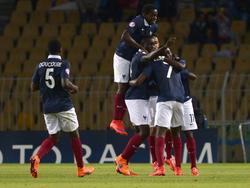 La selección de Francia Sub-17 se proclamó campeona de Europa. (Foto: Getty)