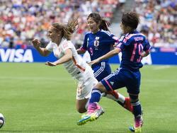 Japón brilló con luz propia, desarrollando un fútbol combinado y tácticamente impecable. (Foto: Getty)