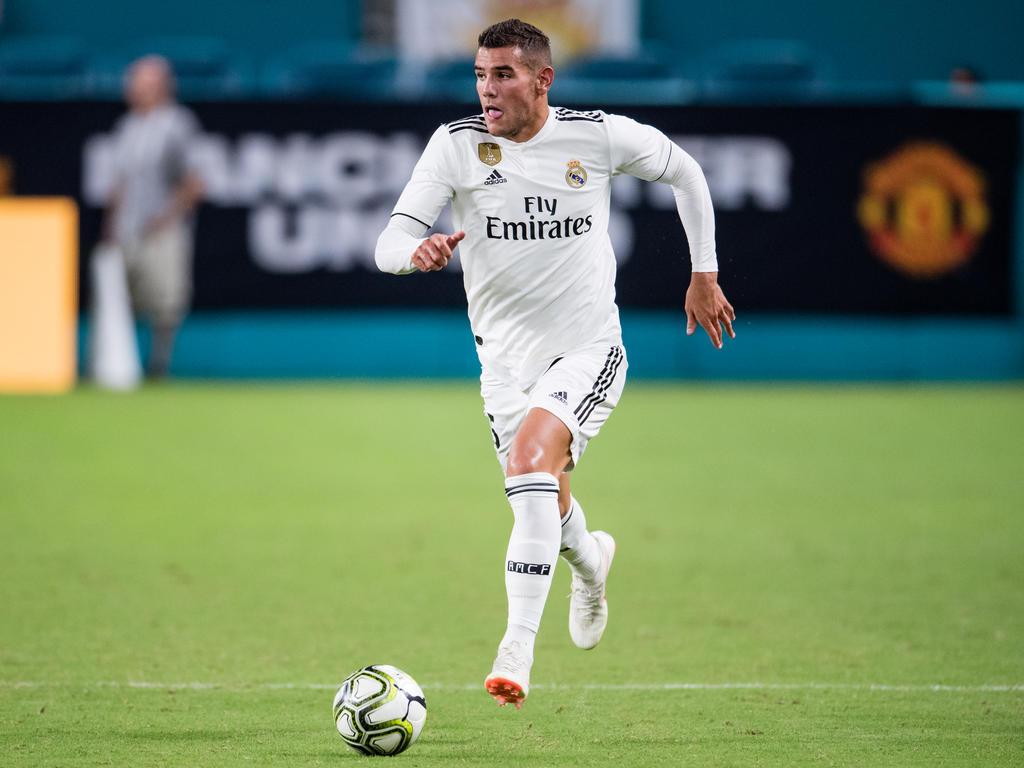 Theo durante la International Champions Cup con el Madrid. (Foto: Getty)