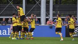 U19 des BVB besiegt den FC Schalke 04 deutlich (Bildquelle: twitter.com/bvb)