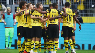 El Dortmund brilló con cuatro goles en su debut. (Foto: Getty)