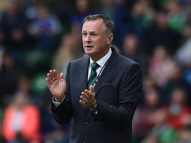 Nordirlands Teamchef Michael O'Neill. © Getty Images/Charles McQuillan