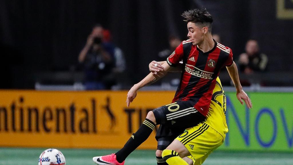 Miguel Almirón ist in der MLS bereits Führungsspieler