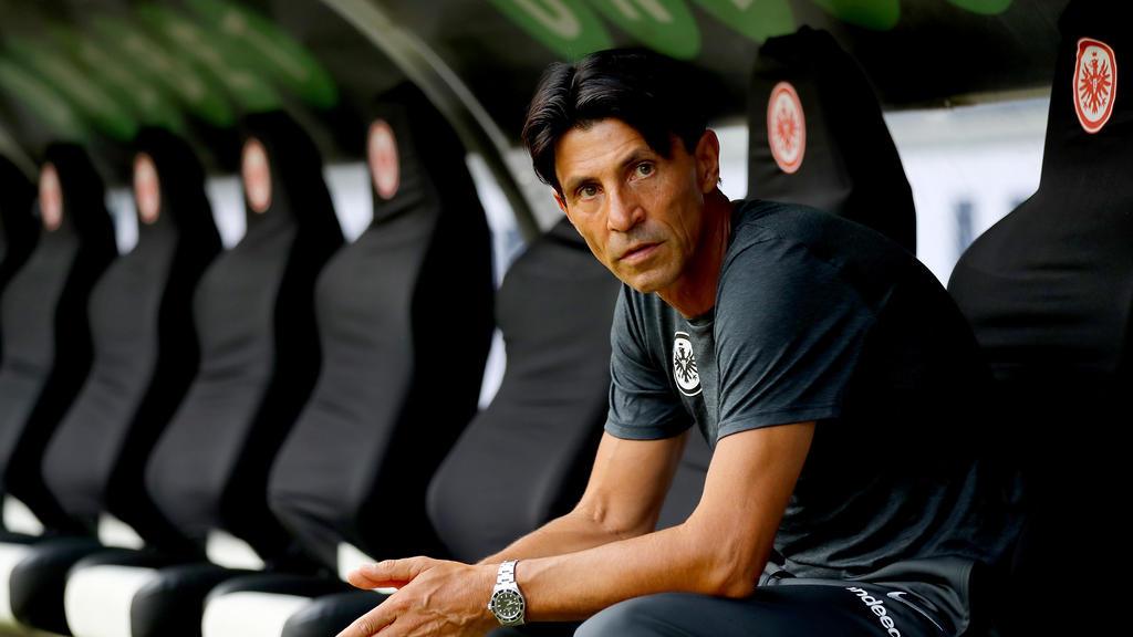 Sportdirektor Bruno Hübner konnte Ante Rebic in Frankfurt halten