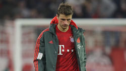 Thomas Müller vom FC Bayern war nach der Partie sichtlich bedient