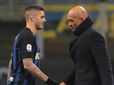 Inter-Coach Luciano Spalletti (re.) steht in der Kritik