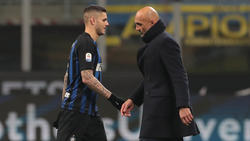 Inter-Coach Luciano Spalletti (re.) steht in der Kritik