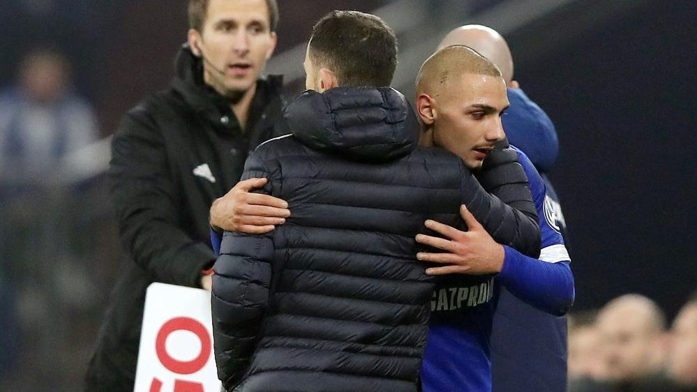 Ahmed Kutucu traf für den FC Schalke 04 zum 1:0