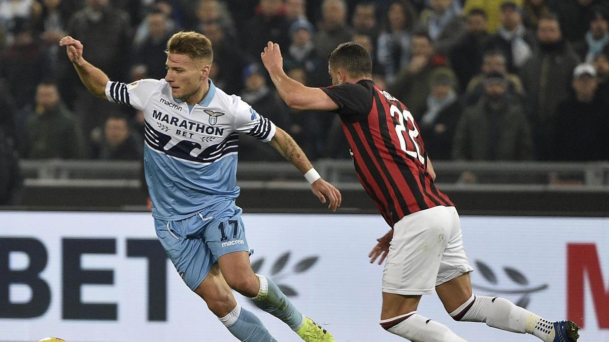 Lazio und Milan trennten sich unentschieden
