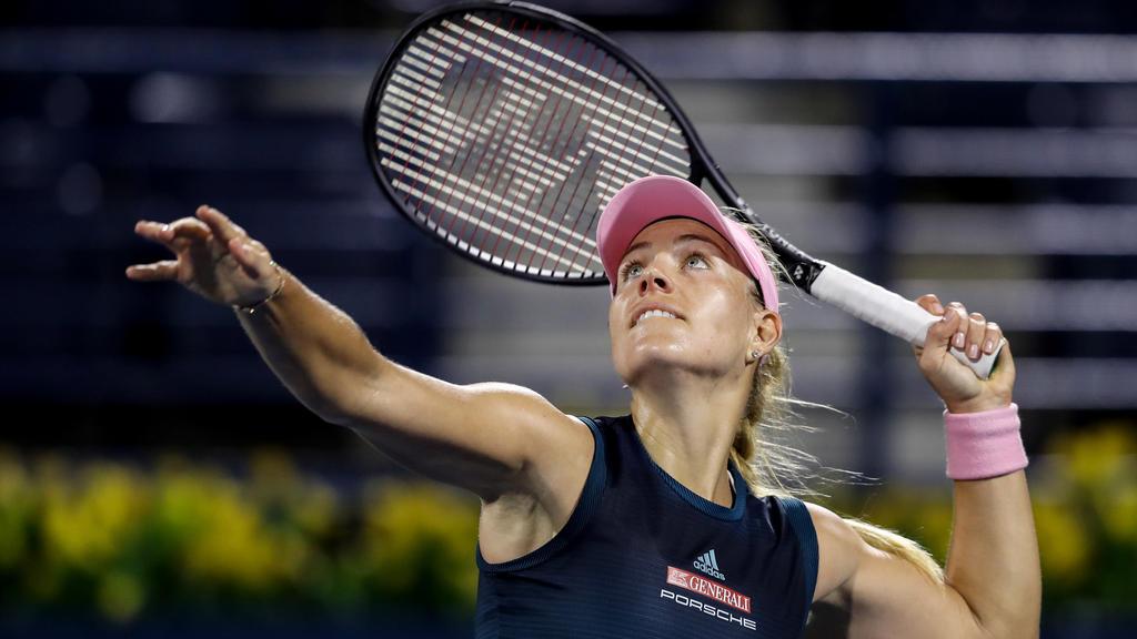 Angelique Kerber ließ ihrer Kontrahentin in Indian Wells keine Chance