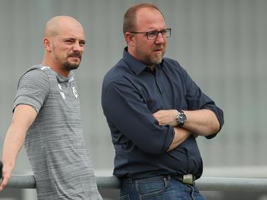 Auf Nestor El Maestro und Günter Kreissl warten Gegnerbeobachtungen