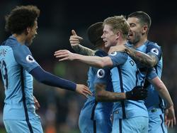 Nicht zu stoppen: Manchester City überrollte West Ham