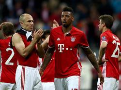 Die Bayern-Profis hoffen auf das Rückspiel