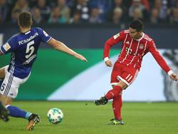 Schießt James 16 Saisontore für die Bayern?