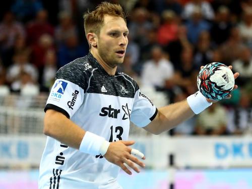 Steffen Weinhold feierte mit dem THW Kiel einen deutlich Erfolg