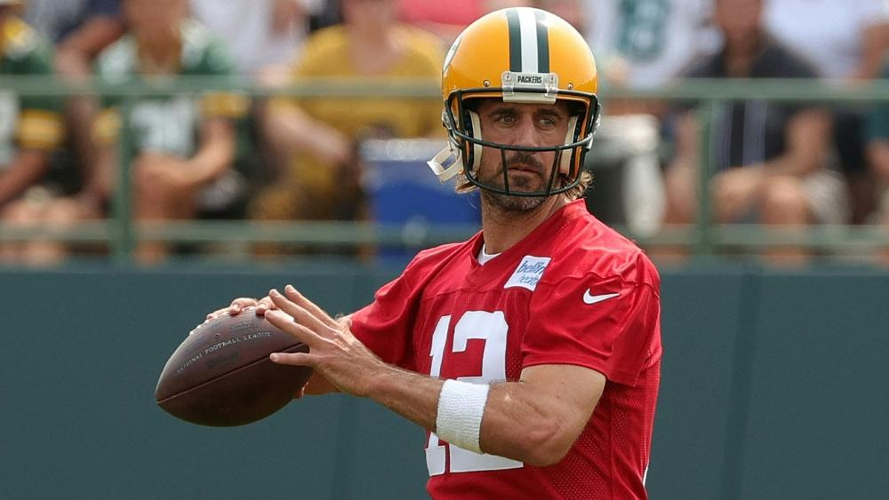 Aaron Rodgers ist bei den Green Bay Packers wieder ins Training eingestiegen
