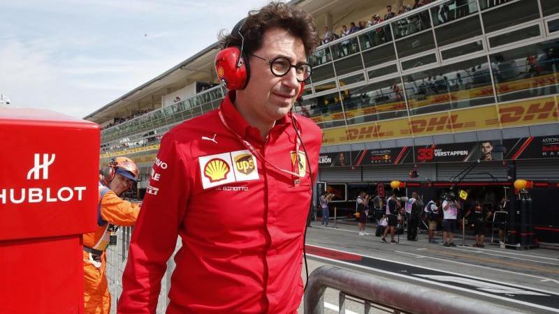 Dämpft die Erwartungen vor dem Saisonstart: Mattia Binotto, der Teamchef von Ferrari