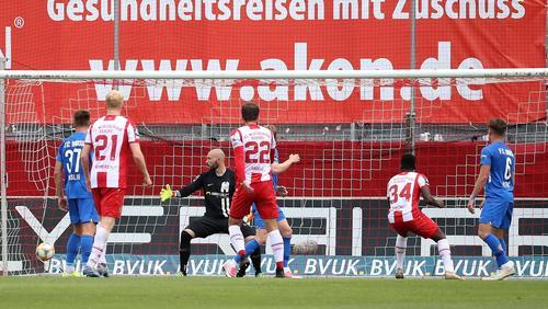 Die Würzburger Kickers schlugen Rostock mit 3:1