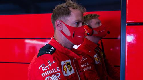 Sebastian Vettel hat in der Formel 1 derzeit nichts zu lachen