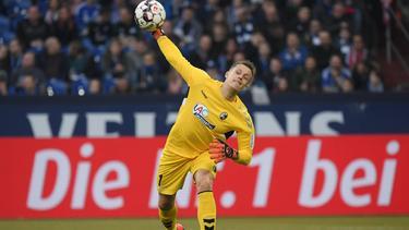 Alexander Schwolow hat offenbar das Interesse des FC Schalke geweckt