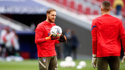 Kannte den Trainer des FC Bayern nicht: Jan Oblak (l.)
