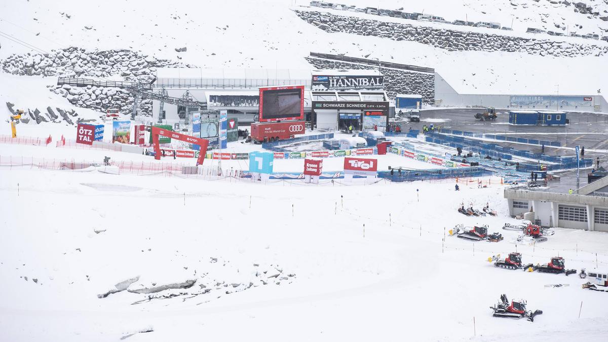 In Sölden findet der Alpin-Winter seinen Auftakt