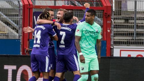 VfL Osnabrück jetzt Dritter in der 2. Bundesliga