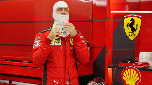 Ferrari-Fahrer Sebastian Vettel verpasste erneut den Einzug in die Top 10
