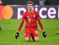 Thomas Müller es otra de las bajas del Bayern.