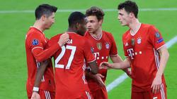 Der FC Bayern buchte am Mittwochabend gegen Lazio Rom das CL-Viertelfinalticket