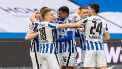 Hertha BSC hat den SC Freiburg klar bezwungen