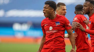 Traf für Hertha BSC beim FC Schalke 04: Jessic Ngankam