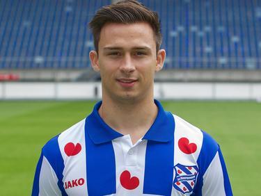 Daniel Geissler, hier nog als speler van Heerenveen, zet zijn carrière voort bij de beloften van Schalke 04. Geissler is een 19-jarige middenvelder uit Oostenrijk en heeft bij Heerenveen voornamelijk in de beloften gespeeld. (31-1-2014)