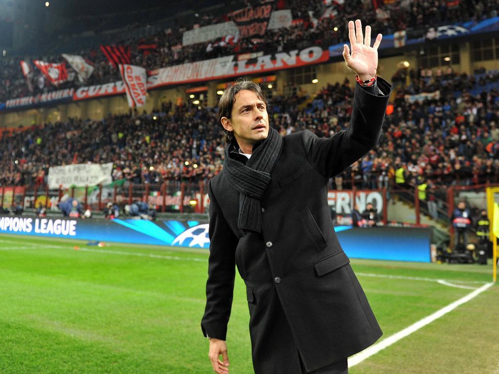 Wird doch neuer Trainer der Rossoneri: Filippo Inzaghi