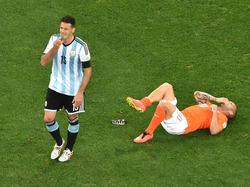 Viel K(r)ampf, wenig Esprit: Das zweite WM-Halbfinale bot nur einen geringen Unterhaltungswert