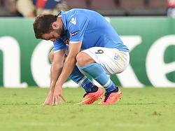 Gonzalo Higuain con la maglia del Napoli