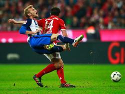 Fabian Lustenberger ist für die BVB-Partie fraglich